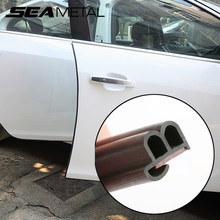 Auto Deur Rand Afdichting Strips Anti Scratch Tochtstrip Protector Automobiles Stickers Auto Interieur Afdichting Deur Strip Accessoires(China)