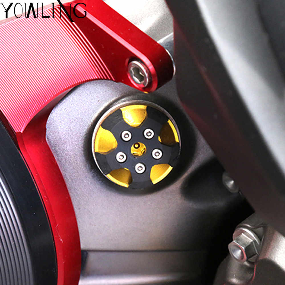 For DUCATI  Monster 821 1200 1200S DIAVEL Multistrada 1200 Motorcycle M20*2.5 Magnetic Engine Oil Filter Cup Plug Cover Screw