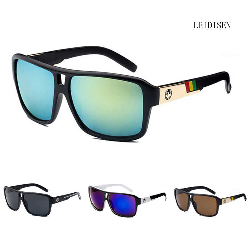 0f7234780ab Luxury Brand Design Outdoor Sports Sun Glasses For Men Women Retro Mirror  Reflective Unisex Eyewear uv400