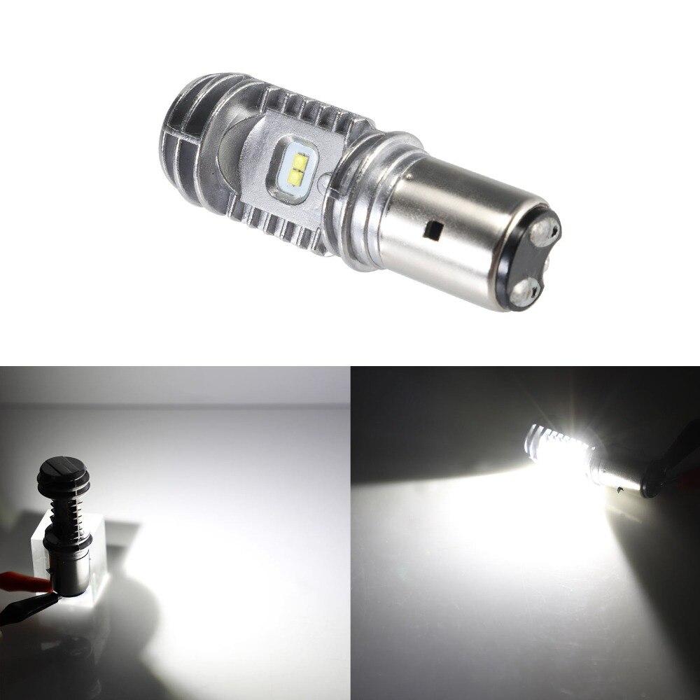 BA20D H/L 40 watt 2000lm 6000 karat 9-85 v Motorrad ATV Led-lampe DRL Scheinwerfer Licht lampe 1 stück Freies Verschiffen D30