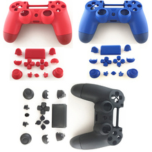 3 colors New version PS4 Pro Housing Shell Case Cover for Sony Playstation 4 Controller ABXY R1 L1 R2 L2 Dpad Buttons
