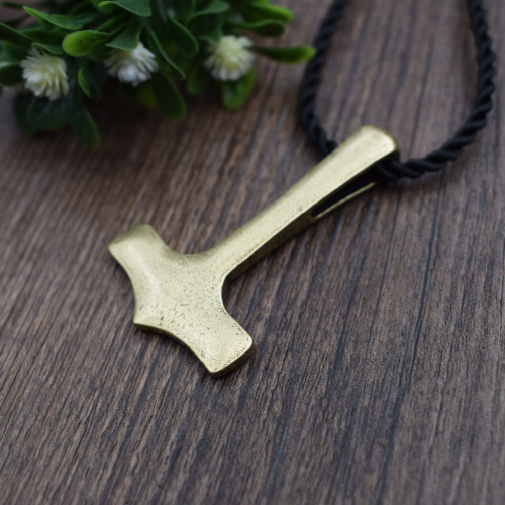 new original thor hammer mjolnir viking amulet pendant necklace