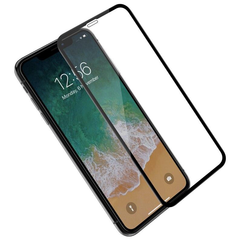 672ba1f02ed 3D completa de la cubierta de vidrio para iPhone XS Max XR X S X NILLKIN  increíble 3D CP + MAX Nano Anti- protector de pantalla de vidrio templado  explosión ...