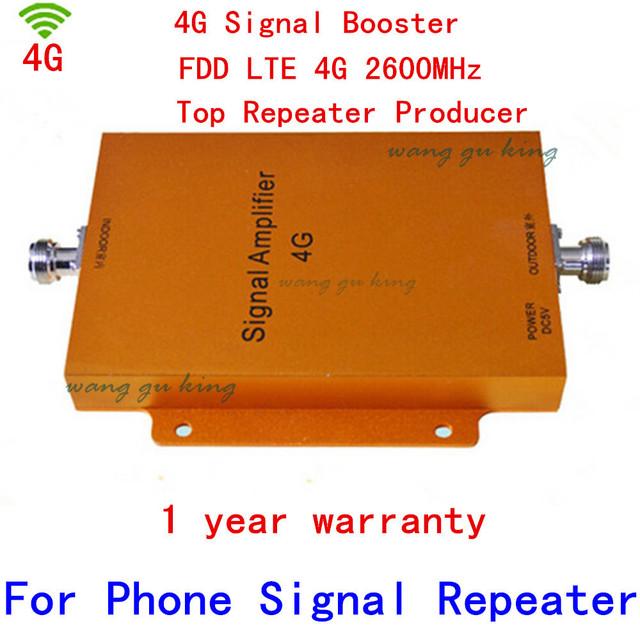 4G LTE Repetidor 4G 2600 MHz Sinal De Reforço 65dBi Ampli Amplificador de Ganho 2600 MHz LTE 4G Móvel Repetidor de Sinal de telefone