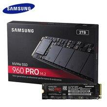 Samsung внутренний SSD 960 Pro 512 ГБ 1 ТБ 2 ТБ Внутренние твердотельные накопители PCIe 3.0×4 NVME 1.2 жесткий диск для портативных ПК компьютер