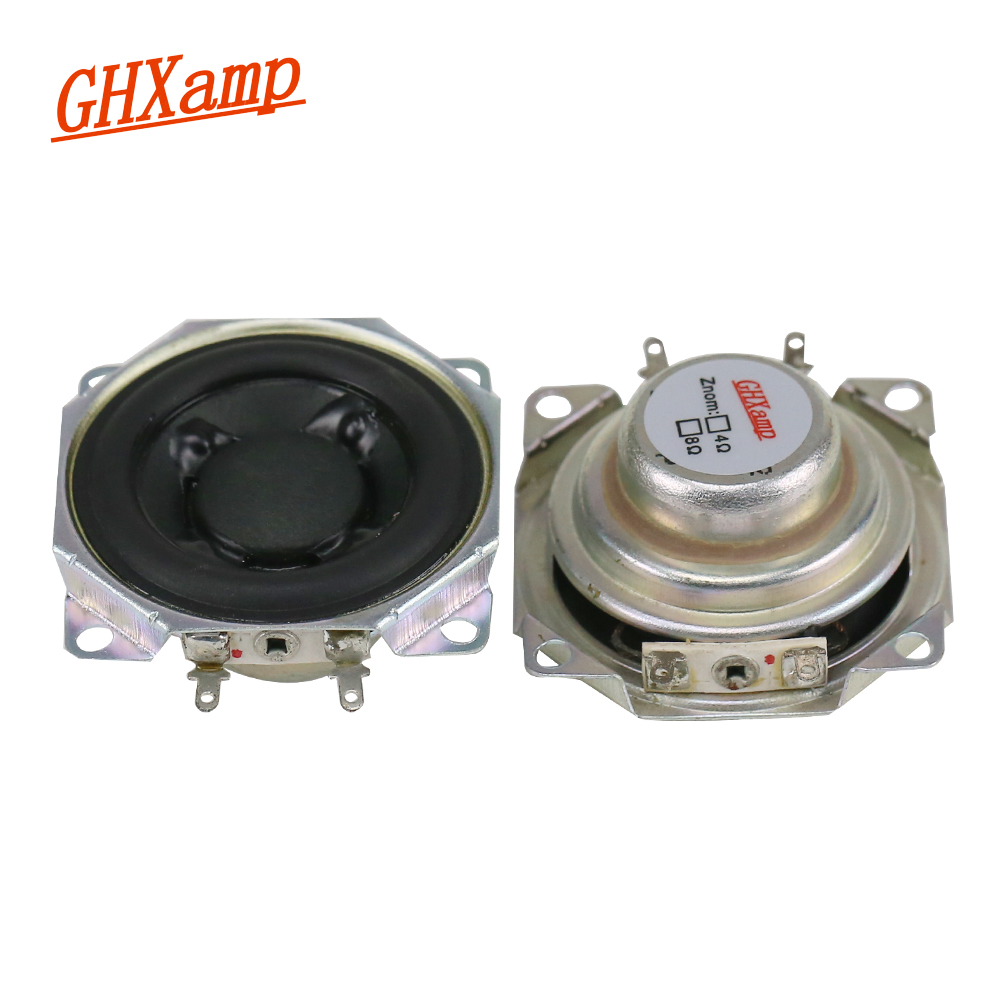 Ghxamp 2 Inch 24 Ohm 10w Full Range Speaker 12 Neodymium Dual Voice Coil Low Frequency Effect For Samco 2pcs In Portable Speakers From Consumer