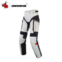 BENKIA Профессиональный Для женщин мотоциклетные брюки зимние брюки для верховой езды ралли беговые штаны Moto Pantalones Blaack и серый