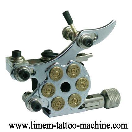 Free shipping Classic Thin Black Iron Tattoo gun Machine Blue 10 ...