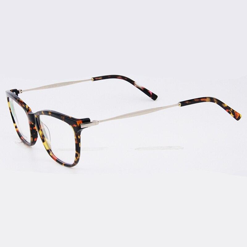Tortuga Retro Marco Óptico Montura de gafas de Marca de Diseño En ...
