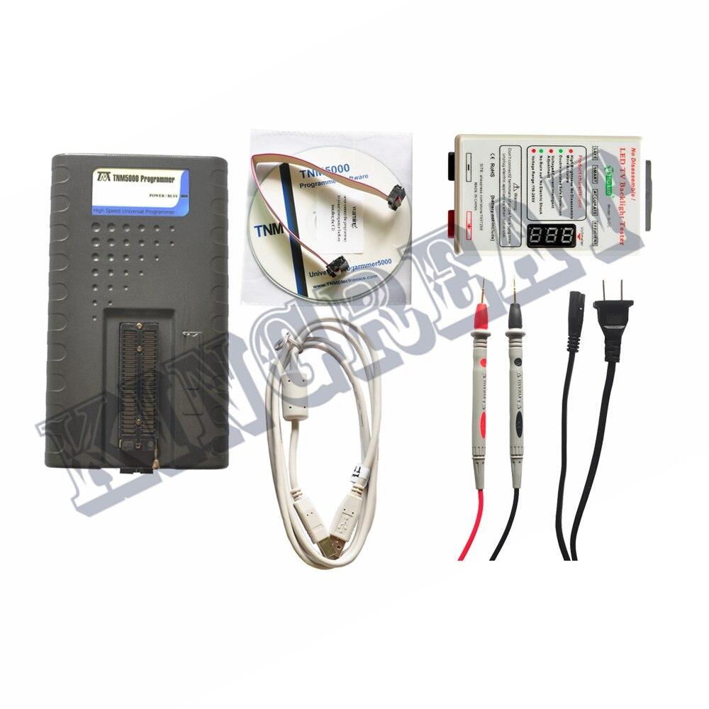 TNM5000 USB FPGA ISP EPROM Programmer Nand Flash 0 300V Output LED LCD TV Backlight Tester