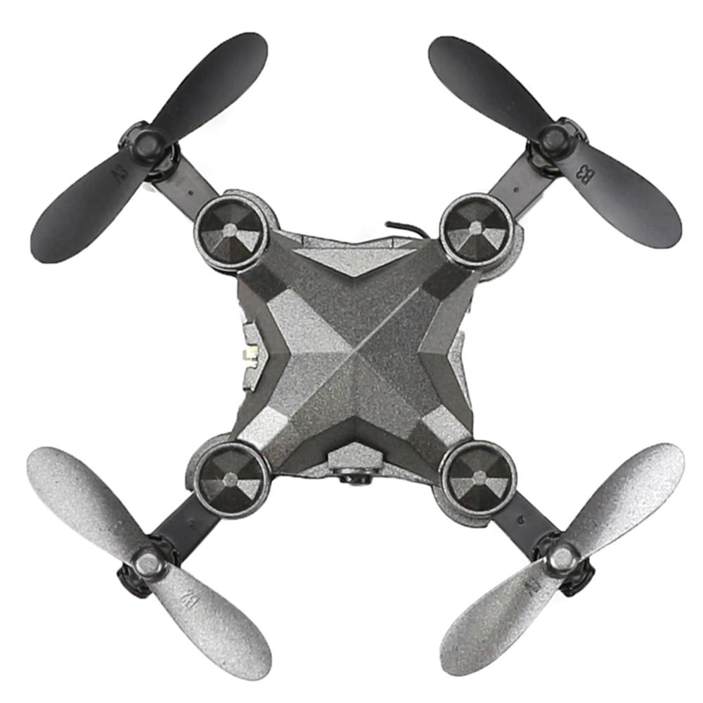 Uhr Control RC Drone Faltbare Quadcopter Höhe Halten G-Sensor Control Headless Modus Ein Schlüssel Rückkehr Drone Eders Anfänger ebene