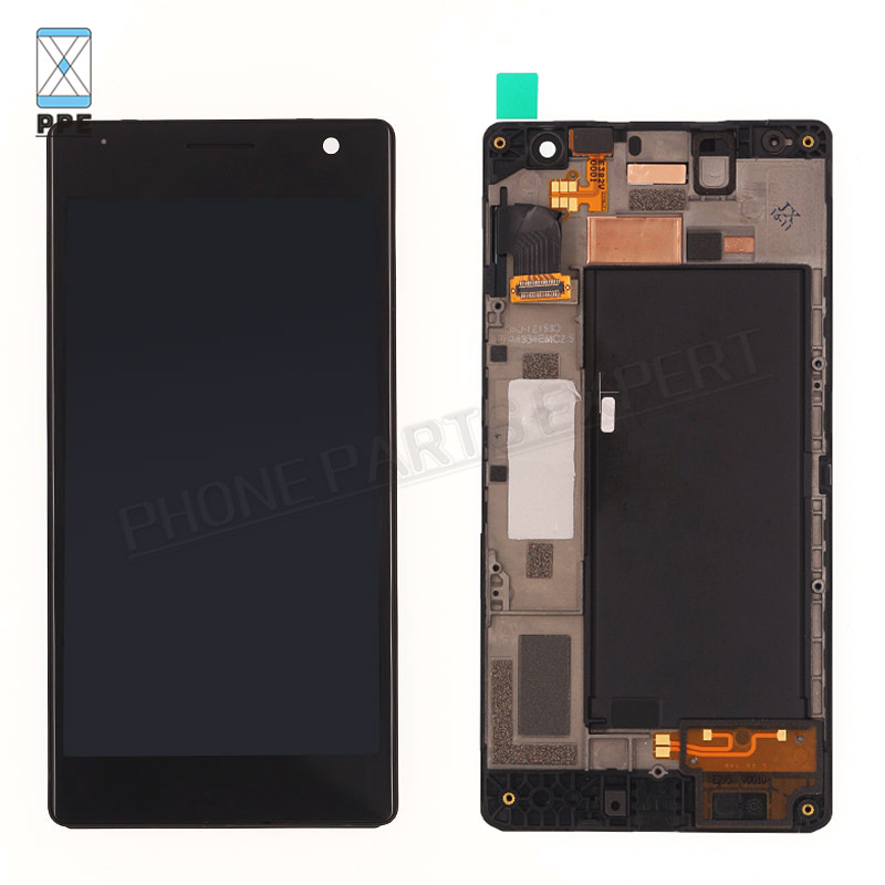 Original LCD For Nokia Lumia 730 Lumia 735 LCD display with touch screen digitizer Assembly with frame Replacement+Tools 5 pcs free dhl ems shipping replacement lcd display with touch screen digitizer frame for nokia lumia 730 735 lcd assembly tools