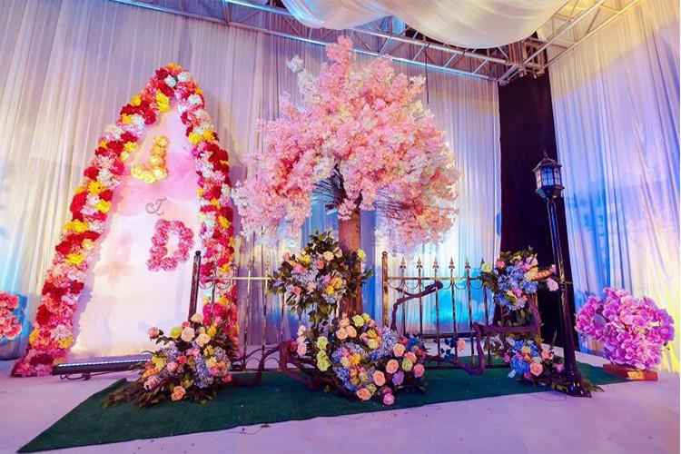Aliexpress buy luyue 20pcs wedding decoration hydrangea luyue 20pcs wedding decoration hydrangea flower heads15cm artificial diy silk artificial wedding flowers accessories wholesale junglespirit Gallery