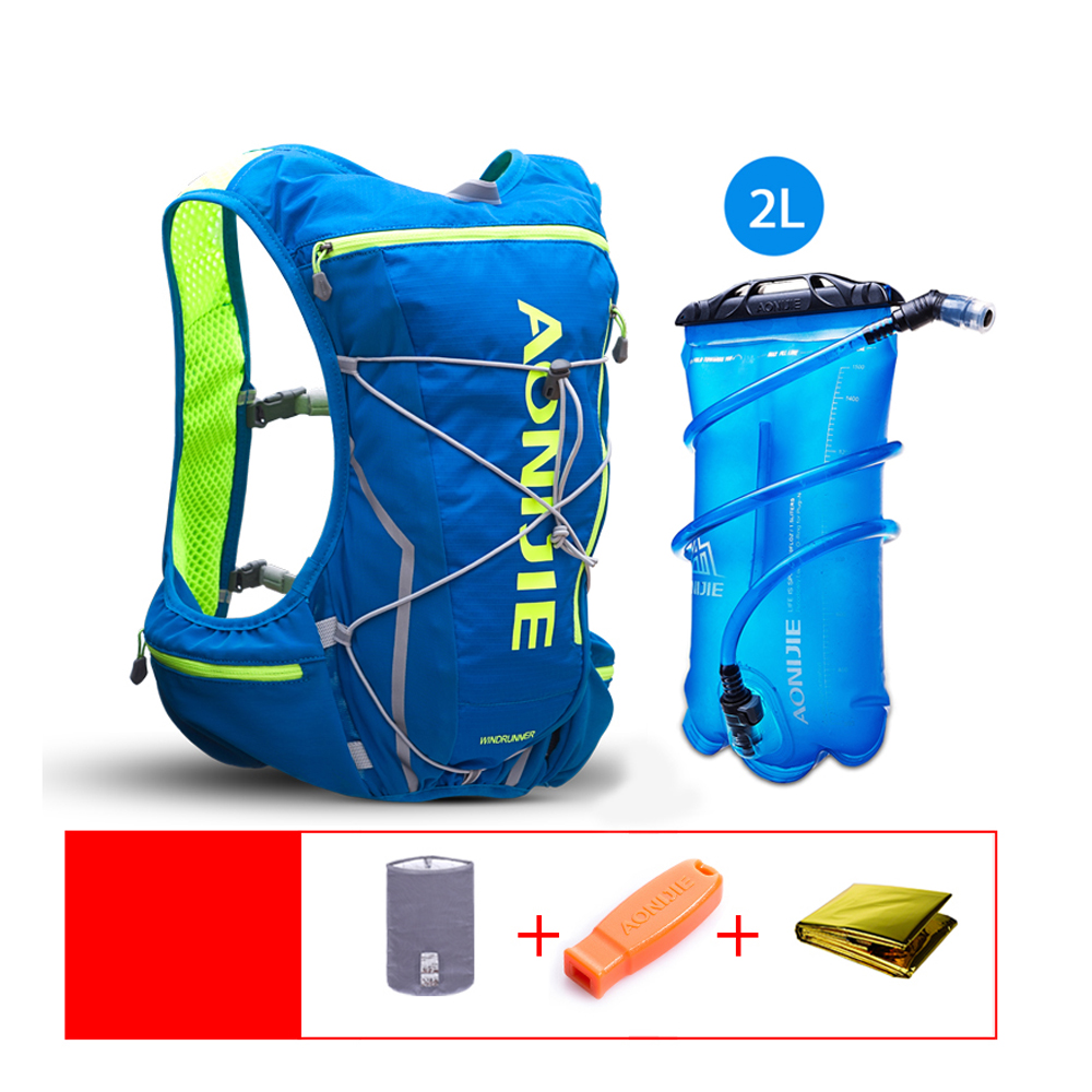 Cycling Bags Backpack Hydration Pack Backpack with 2L Water Bladder for Running Hiking Cycling Climbing Camping