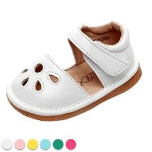PU leather baby shoes Summer Soft Soled Non-slip infant toddler footwear Cute Soft Bottom boys girls Sandales with sound D3