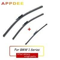 APPDEE 와이퍼 프론트 및 리어 와이퍼 블레이드 세트 BMW 1 시리즈 E81 E87 116i 116d 118i 118d 120i 120d 123d 130i 2004-2010 20