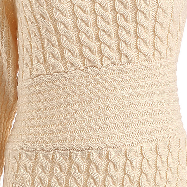 One Shoulder Sweater - 3 Sizes 4