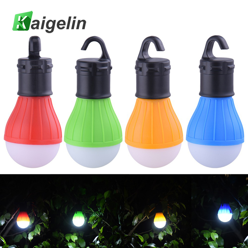 Mini LED Portable Light With Hook Camping Light 4 Colors Optional LED Camping Lantern For Tent