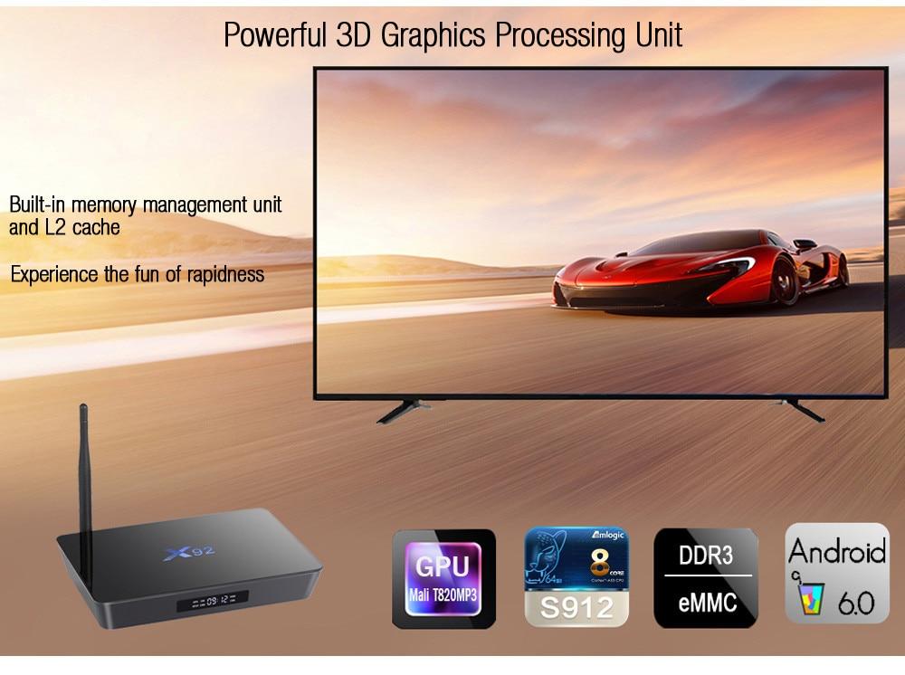 X92 Android 6.0 TV Box X92 Android 6.0 TV Box HTB103L0aRUSMeJjSszbq6zerFXah