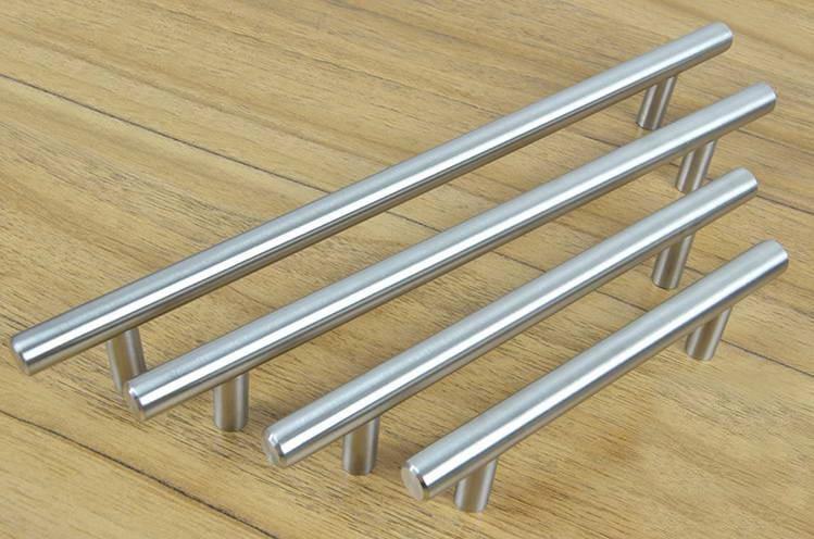 Furniture Hardware Stainless Steel Kitchen Cabinet Handles Bar T Handle C C 385mm L
