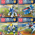 Nexus caballeros caliente 4in1 mech robot building block arcilla carro lanza caballo aaron luchador lepins compatible con legoe ladrillos juguetes