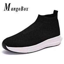 b0f77c57ff Mangobox verano gimnasio zapatillas de deporte para los hombres negro gris  niños zapatos de diseñador para hombre calcetín zapat.