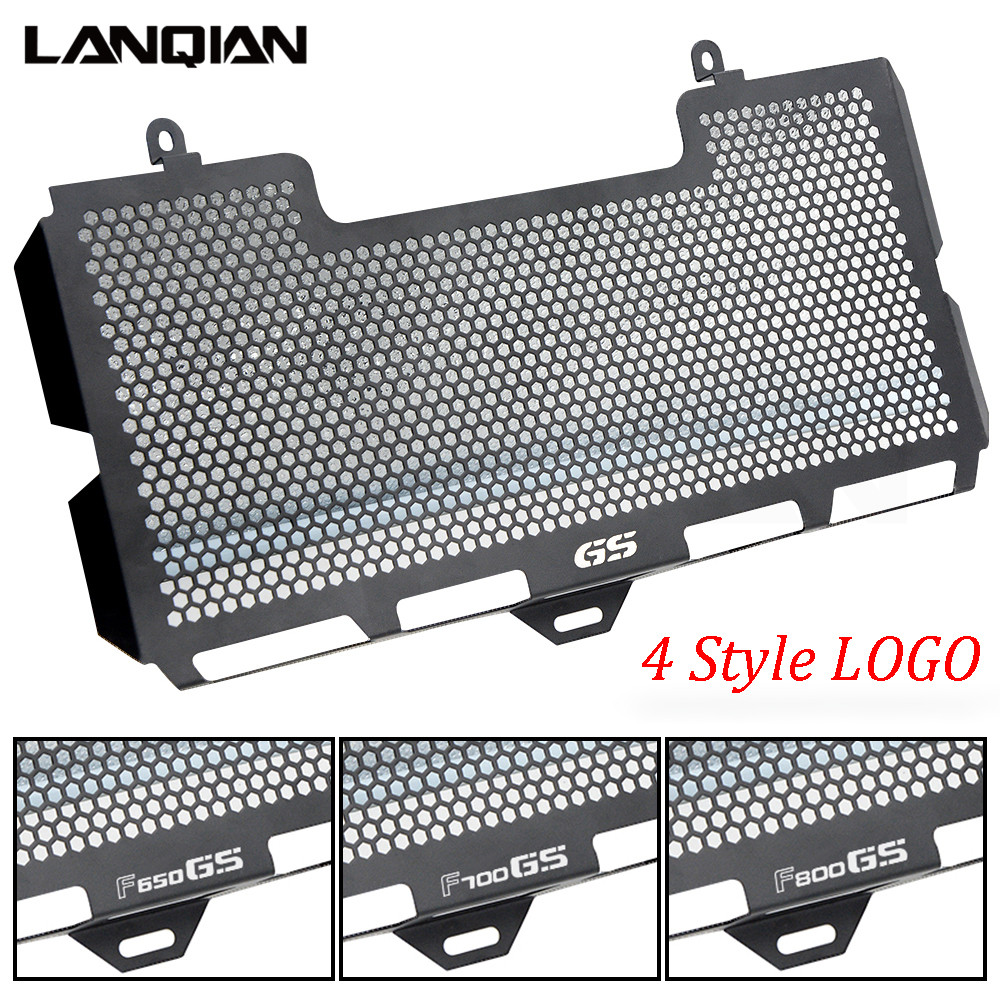 Motorcycle Radiator Guard Grille Cover Stainless Steel Cooler Protector For BMW F650GS F700GS F800GS F800S F800 GS Accessories motorcycle stainless steel for kawasaki radiator grille guard grenaj radiatore covers protector accessories z750 z800 z1000