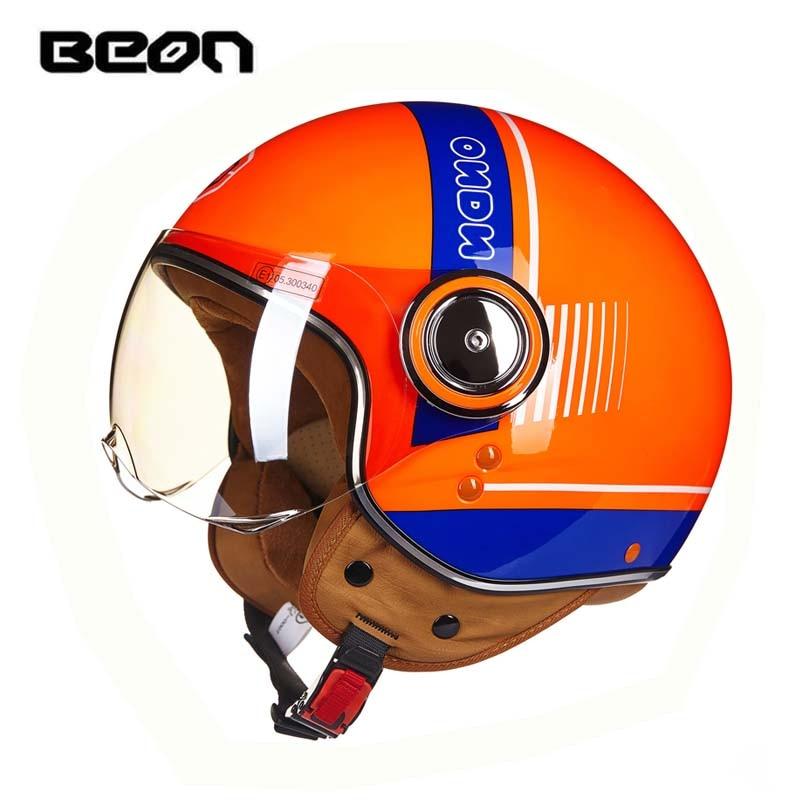 ECE Classic-vlag BEON B-110B motorcross-halfvlak Helm, motorfiets - Motoraccessoires en onderdelen - Foto 4
