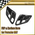 Для Porsche 2007-2010 997 Turbo и Turbo GT2 Сторона Углеродного Волокна Забора Воздуха Совок Стайлинга Автомобилей