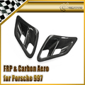 Para Porsche 2007 2010-997 Turbo y Turbo GT2 Carbon Fiber Side Scoop de Admision de Aire Car Styling