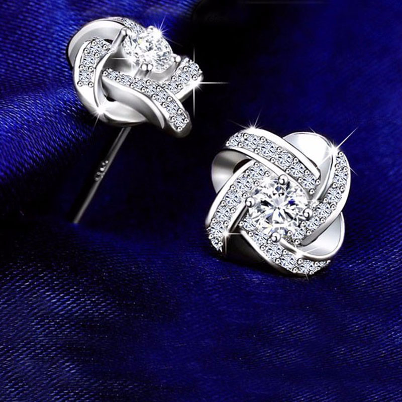 Stud-Earrings-for-Women-925-Sterling-Silver-Fine-Jewelry-Korean-Style-Clear-Cubic-Zirconia-Twist-of