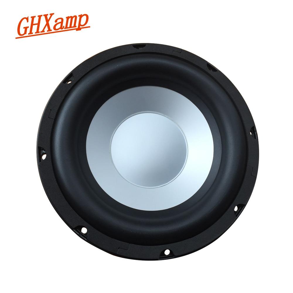 GHXMAP 10 Inch Subwoofer Passive Radiator Speaker Auxiliary Bass Vibration Woofer Radiation Basin Aluminum Frame Rubber 2PCS