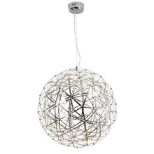 L24-Modern Rainmond Fireworks Pendant Lights Bar Light LED Stainless Steel Ball Pendant Lamp for Bar / Restaurant Lamparas Luster