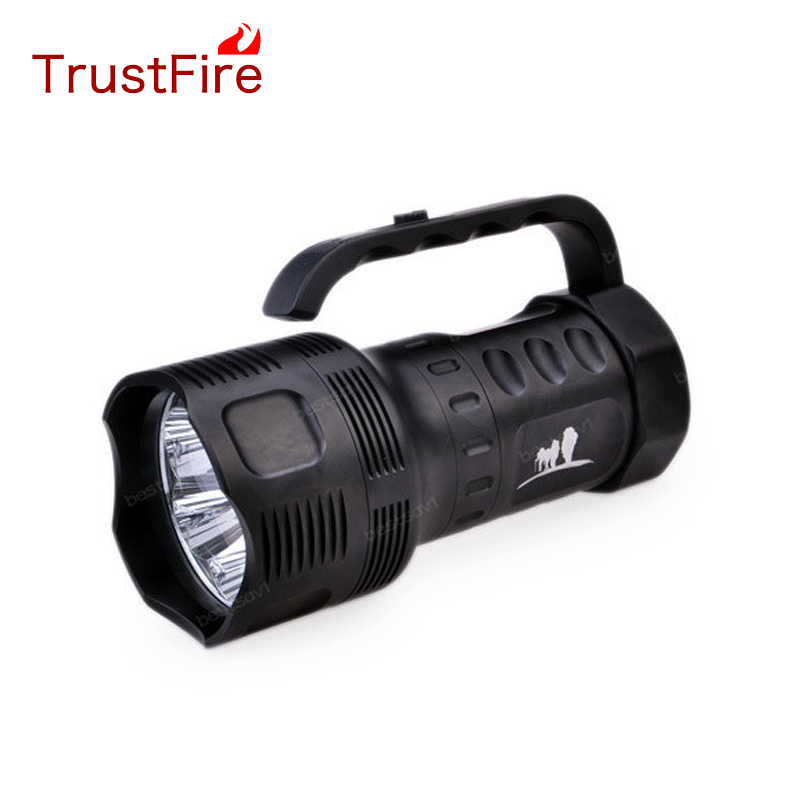 TrustFire TR-S700 7XCree XM-L T6 1-Mode 3000LM Portable Flashlights  outdoor Black(3*26650) катушка lucky john anira spin 7 3000 fd