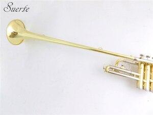 Image 2 - BB Herald ทรัมเป็ตพร้อมปากเป่า Lacquer สีเหลืองทองเหลืองทรัมเป็ตเครื่องดนตรี