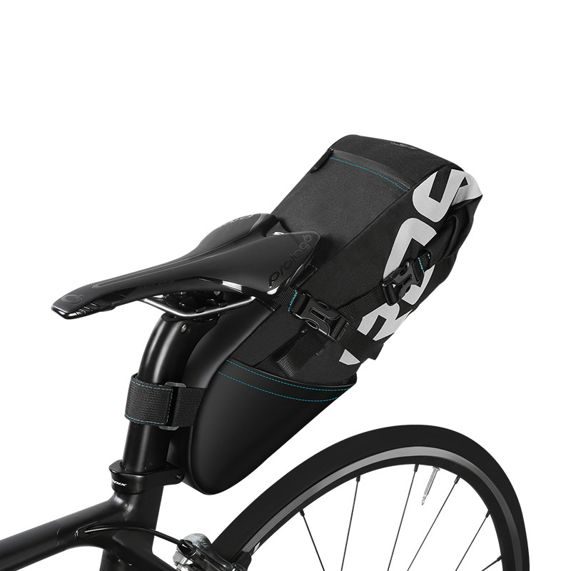 Roswheel New High Capacity 8l 10l Mtb Bike Bag Cycling Bicycle Saddle Tail Rear Seat Waterproof Storage Bags Accessories In Panniers From