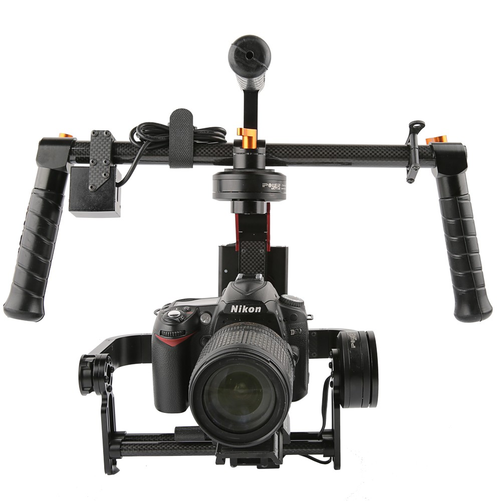 RTU iFlight G15 3 Axis DSLR Handheld Brushless Gimbal w/joystick 32 bit Simple BGC for 5D/GH3/GH4/A7S/BMPCC цена