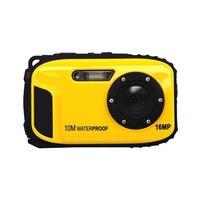 Top Deals 16MP Underwater Digital Video Camera 30ft Waterproof Dustproof Freezeproof