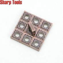 SNMG120404-HA LF6018 для металлорежущих токарных стаков Инструменты Карбид вольфрама вставки для обработка нержавеющей стали резки ЧПУ режущая вставка