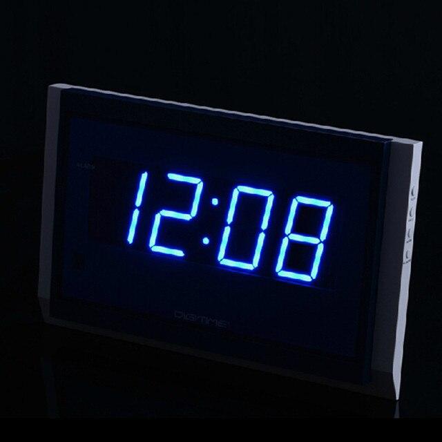 2018 Große Uhr Fernbedienung Große Led Digital Wanduhr Modern Design