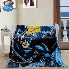 Disney Black Mask Batman Star Wars Plush Flannel Blanket Throw Bedspread Flatsheet 150X200CM Kids Boys Gift