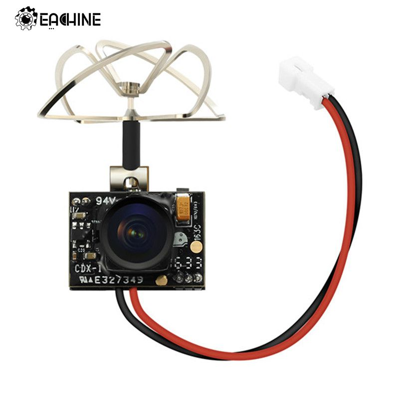 2018 New Arrival Eachine TX02 Super Mini AIO 5.8G 40CH 200mW VTX 600TVL 1/4 Cmos FPV Camera For FPV Multicopter eachine ts5840 upgraded 40ch 5 8g 200mw wireless av transmitter tx for fpv multicopter