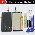 Высокое Качество ЖК-Дисплей + Сенсорный Экран Digitizer Замена Для Xiaomi Redmi2 Hongmi2 Redmi 2А Сотовый Телефон 4.7 Дюймов Бесплатно инструменты