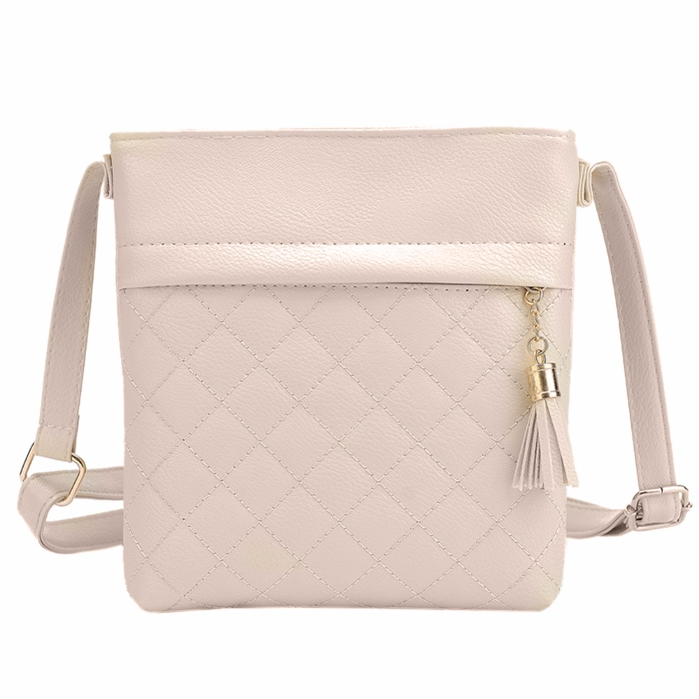 New Fashion Women PU Leather Shoulder Bag Brand Design Handbag Ladies Solid Tassel Messenger Crossbody Bags High Quality just star brand new design fashion pearls bow pets printing pu women leather girls ladies handbag shoulder bag cross body bags