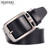 Best YBT Men Leather Belt Woven Belt Leather Women S Straps Man Belts Wide Girdle Male