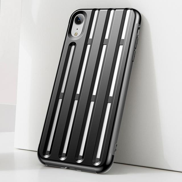 Soft Silicone Armor Plastic Hybrid Case – Apple iPhone