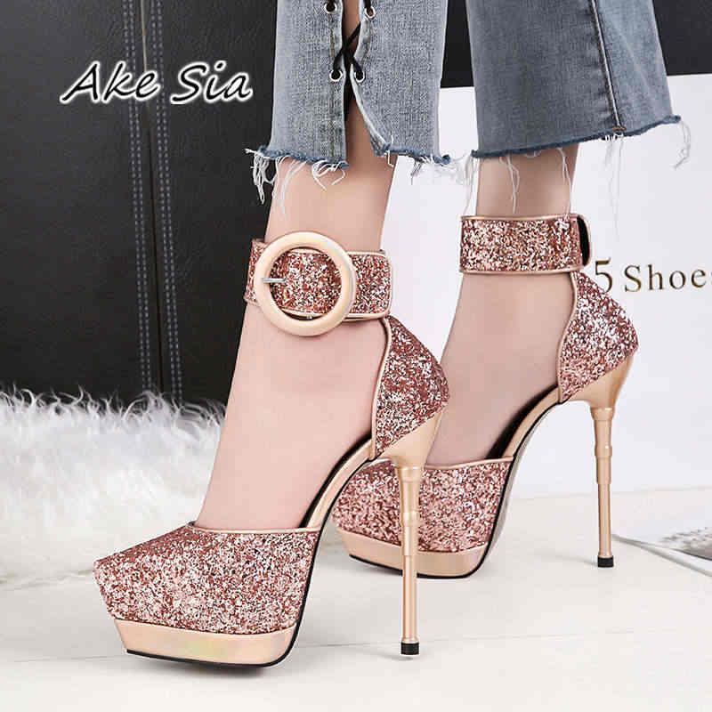 0d0217d2bd06 Sexy cross-bandage high-heel cross-bandage high-heeled shoes nightclub  Waterproof