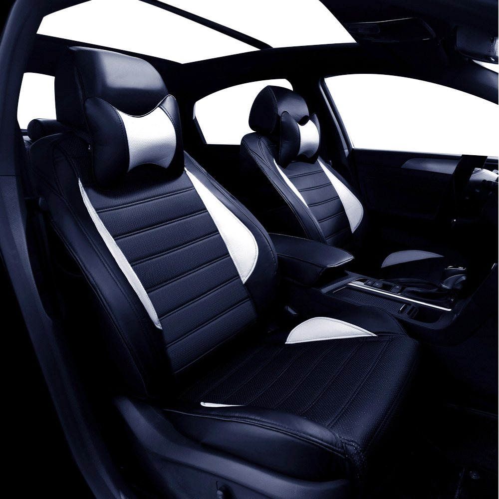 Leather car seat cover For Mitsubishi Lancer Outlander Pajero Eclipse Zinger Verada asx CARISMA GALANT car accessories styling