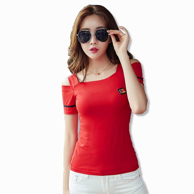 gkfnmt с открытыми плечами топы летние - Женская одежда