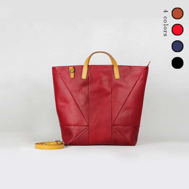 7663e9035f50 Cow Leather Handbags Big Women Bag Casual Female Bags Trunk Tote Spanish  Shoulder Bag Ladies Large Bolsos